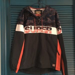 Super Dry Pullover Jacket